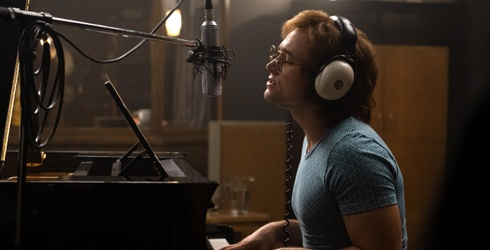 """He Came Around, but Bernie Taupin Wasn't a Fan of the """"Rocketman"""" Script at First"""