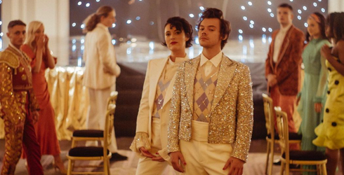 We Expect Harry Styles' New Video to Be a Huge Source of Inspiration for a Good, Long While