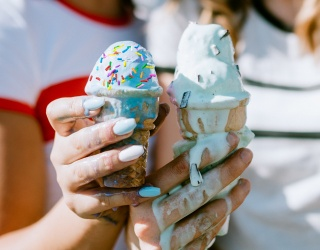 Spot the Differences in These Ice Cream Cone Photos Before They Melt
