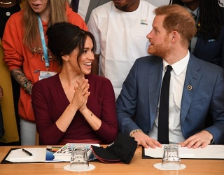 Meghan Markle's Updo Gives Kate Middleton a Run for Her Money