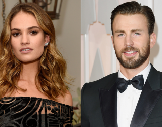 My Heart Can't Handle This Alleged Lily James & Chris Evans Romance