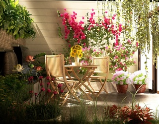 How to Make Over Your Miniature Outdoor Space Into Somewhere You Actually Want to Hang