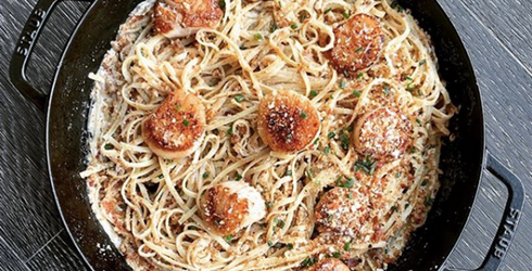 A Memory Match of the Insanely Delicious-Looking Meals Chrissy Teigen Has Made...Sorry
