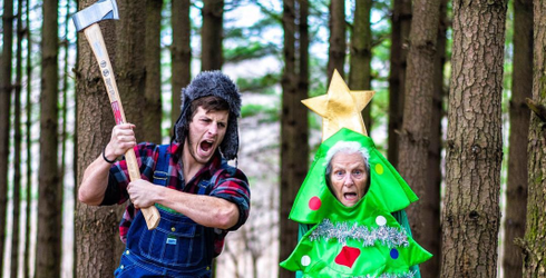 This Grandma and Grandson Duo's Crazy Costumes Are a Year Full of Fun
