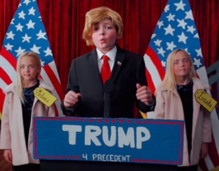 Donald Trump and Hillary Clinton Rehash the 2016 Election in This Hilarious Children's Play Spoof
