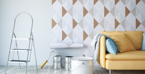 The Best DIY Wallpaper to Use in Your Rented Apartment