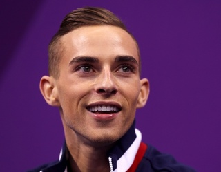 8 Times Adam Rippon's Eyebrows Made Us Weep With Envy