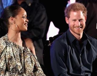 Rihanna Sits Next to Prince Harry, Looks  Unimpressed