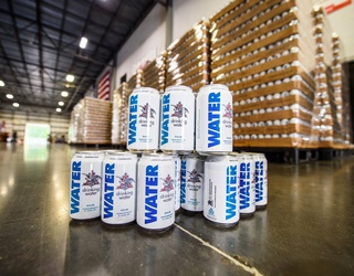 Anheuser-Busch Puts Down the Bottle and Delivers Canned Water for Hurricane Harvey Victims