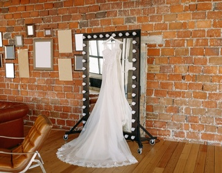 """I Insist You Say """"Yes"""" to This Wedding Dress Reveal"""