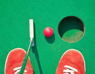 This Mini Golf Memory Match Might Be the Only Thing to Help You Score a Hole in One
