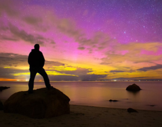 In Case You Missed It, the Northern Lights Were Out to Play Last Night