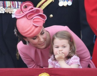 Princess Charlotte Felt Underwhelmed by Today's Trooping the Colour