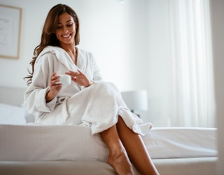 The Coziest Bathrobes You Should Give (Ahem, or Buy Yourself) This Year