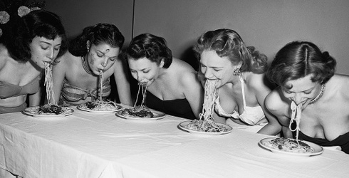 "Unscramble This Throwback ""Spaghetti Swooshing"" Puzzle"