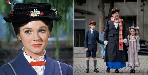 James Corden Dressed up as Mary Poppins and the Resemblance Is Uncanny
