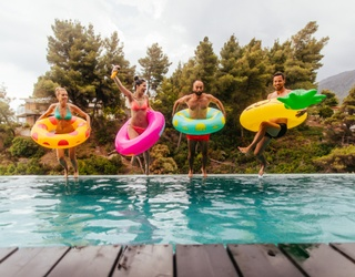 Should We All Float on...in Rented Strangers' Pools?