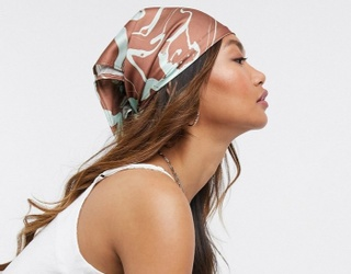 On Trend: Ride in Style Like a TikToker With a Dainty Head Scarf