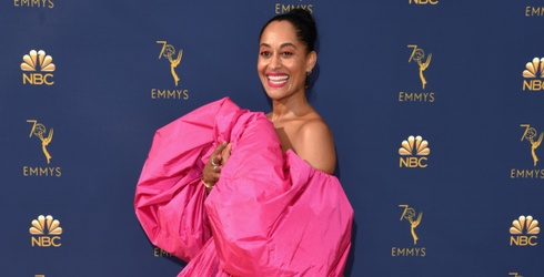 On Trend: Stand out Like Tracee Ellis Ross in These Hot Pink and Yellow Combos