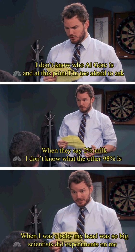 Andy Dwyer\'s Greatest Moments On \