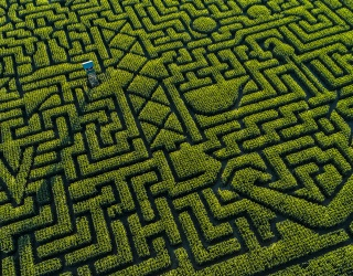Amaze Us by Piecing This Maze Puzzle Back Together