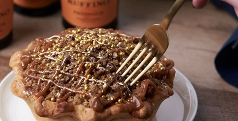 Can't Decide if You Should Bring Pie or Champagne to Your Holiday Party? Why Not Both?
