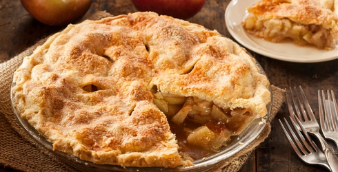 Get the Ice Cream Ready and Then Complete This Apple Pie Memory Match