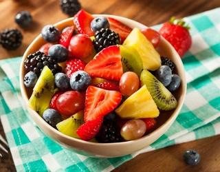 Unscramble This Fresh Fruit Salad Puzzle