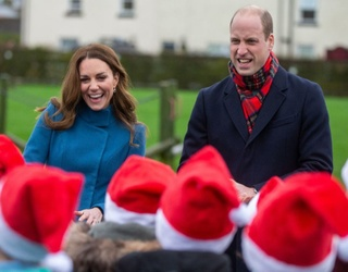 Will and Kate's First Royal Train Tour: So Far a Success!