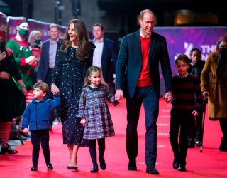 George, Charlotte and Louis Make Their Royal Red Carpet Debut