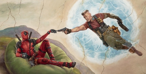 """Maximum Effort Is Required to Complete This """"Deadpool 2"""" Puzzle"""