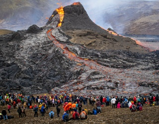 This Footage of an Erupting Icelandic Volcano Is as Hot as the Lava Itself