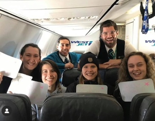 Airline Helps Give Seniors a Graduation, Pomp, Circumstance and All