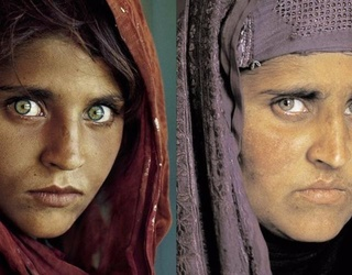 The Afghan Woman in Famous National Geographic Cover Has Been Arrested