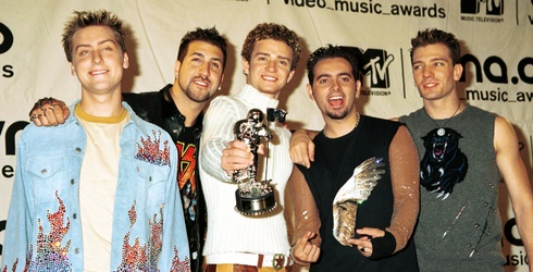 And the 2,636th Star on the Hollywood Walk of Fame Goes to…*NSYNC!