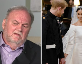 Thomas Markle's Latest Interview Makes Us Wish He'd Be Quiet