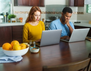 The Inner Monologue of Working From Home With Your Significant Other