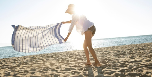 6 Fun Towels That'll Make You the Belle of the Beach