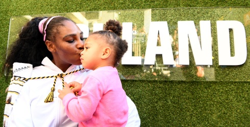 Already Famous: Olympia Ohanian Shares Her Style With Mom Serena Williams