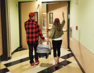 Danielle Fishel's Photos of Her New Baby Boy Reopen the Celeb Social Media Discussion