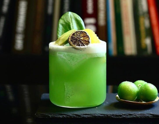 10 Neon-Colored Cocktails to Brighten Your Night