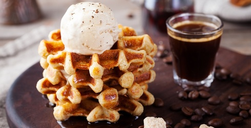 These Mini Waffles Are Almost Too Good to Eat (but Twist My Arm, I'll Do It Anyways)