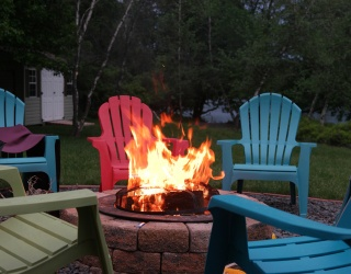 Monday Memory Madness: Pull up an Adirondack and Warm Your Hands by the Fire