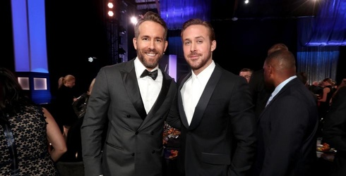 Behold This Heavenly Photo of Ryan Gosling and Ryan Reynolds