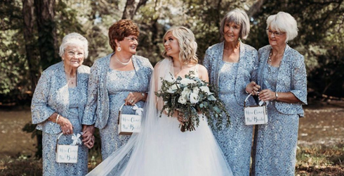 This Bride Included Her Grandmothers in Her Wedding in the Sweetest Possible Way