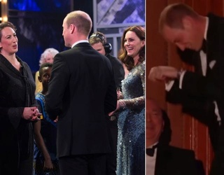 Prince William Had a Galloping Good Time at the Royal Variety Performance