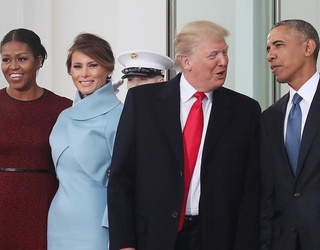 Barack and Michelle Obama Welcome Donald and Melania Trump to White House, Peaceful Transition of Power Begins
