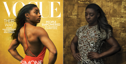 Simone Biles's Vogue Cover Is a Proud Example of Shifting Beauty Standards