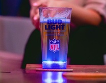 Bud Light's New Light-up Glass Encourages Fans to Be More Hungover Than Ever After Thursday Night Football